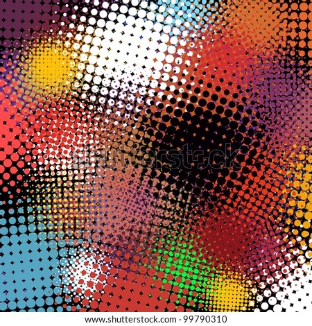 Abstract halftone background. EPS 8 vector file included