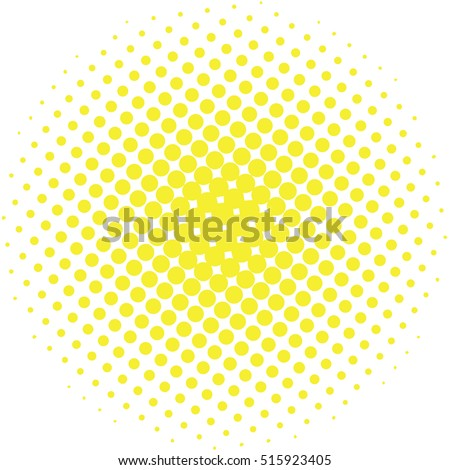 stock-vector-abstract-halftone-design-element-yellow-pop-art-dot-background-pop-art-style-spotted-illustration
