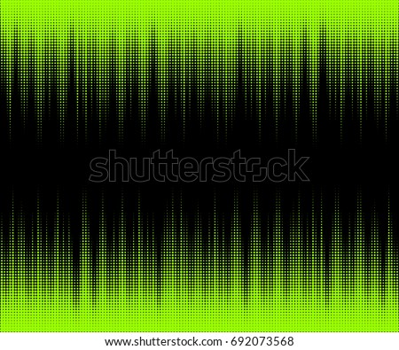 abstract halftone disco neon