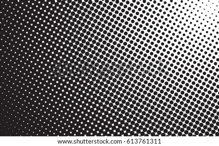 abstract halftone dots pattern