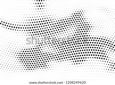 Abstract halftone dotted background. Futuristic grunge pattern, dot and circles.  Vector modern optical pop art texture for posters, sites, business cards, cover, postcards, labels, stickers layout.