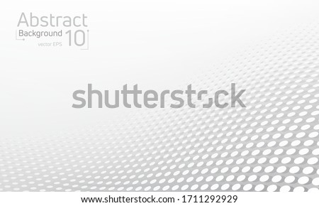 abstract halftone dotted