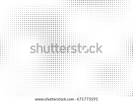 Abstract halftone dotted background. Monochrome grunge pattern with dot and circles.  Vector modern pop art texture for posters, sites, business cards, cover, postcards, labels, stickers layout