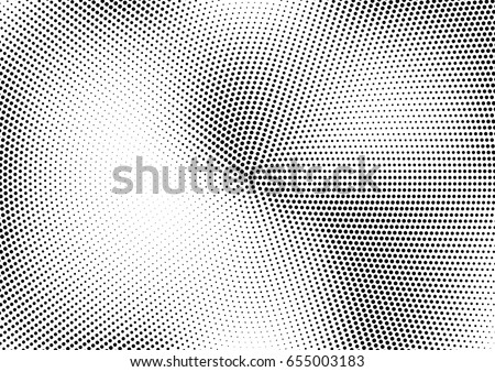 Abstract halftone dotted background. Monochrome pattern with dot and circles.  Vector modern pop art texture for posters, sites, business cards, cover postcards, interior design, labels, stickers