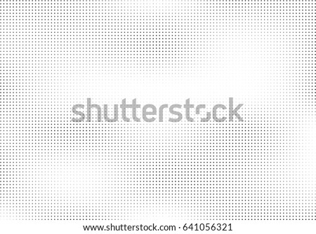 Abstract halftone dotted background. Monochrome pattern with stars.  Vector modern futuristic texture for posters, sites, business cards, postcards, labels, cover, stickers. Design mock-up layout.