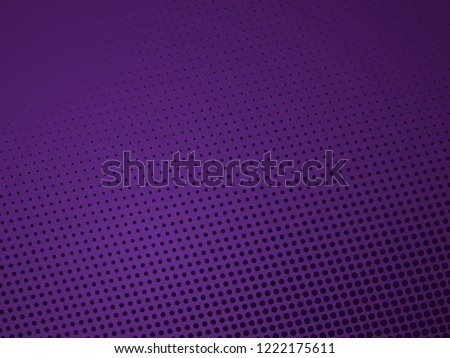 Abstract halftone dotted colorful background - vector illustration. Template for business, design, texture and postcards.