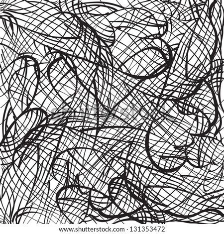 Abstract hand drawn background