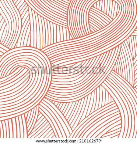abstract hand drawn vector