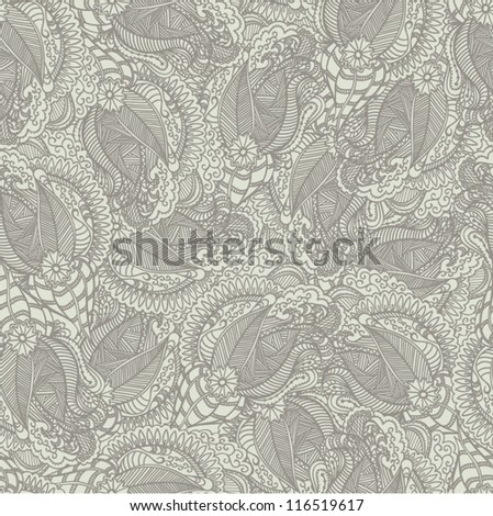 Abstract hand-drow backdrop. Seamless pattern