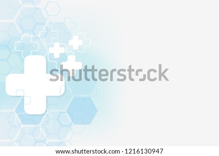 stock-vector-abstract-healthy-and-medical-background-technology-and-science-wallpaper-template-soft-blue-color