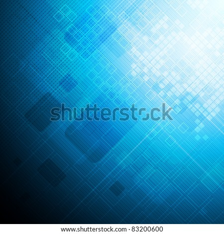 Abstract hi-tech background. Eps 10 vector illustration
