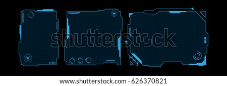 abstract hi tech futuristic template design layout background