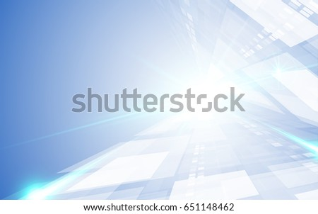 abstract hi tech loading movement perspective design background