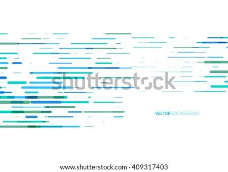 Abstract horizontal colored lines