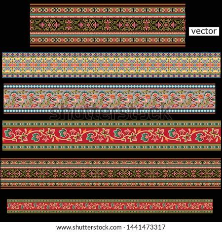 abstract horizontal less border black ground design
