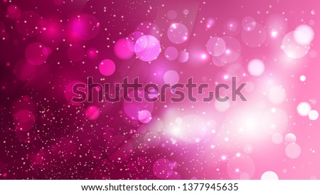 Abstract Hot Pink Blurry Lights Background Stock photo ©