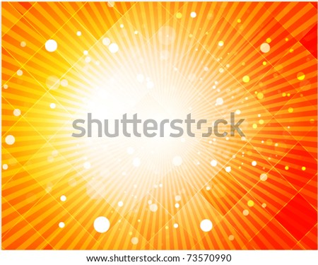 Abstract hot summer light background