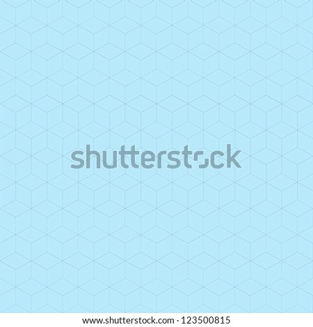 Abstract ice blue pattern background design vector with thin lines