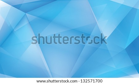 abstract ice light blue