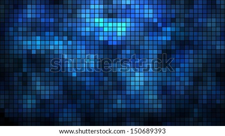 abstract illuminated wall