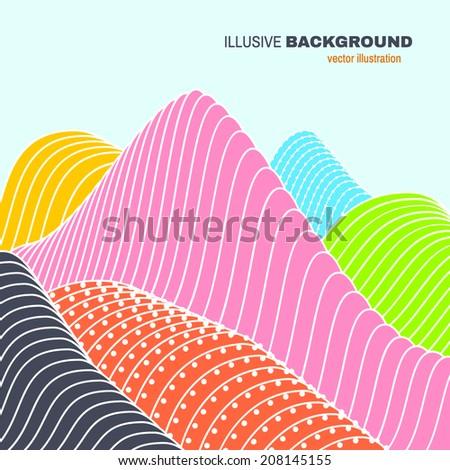 abstract illusive landscape
