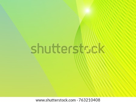 Abstract illustration with green eco background on green background. Eco background green. Abstract web design. Green vector. Vector illustration. Nature color background.