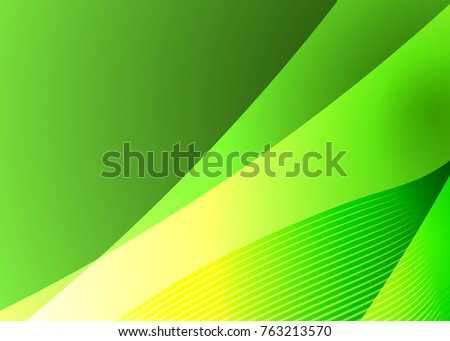 Abstract illustration with green eco background on green background. Eco background green. Green abstract web design. Vector illustration. Vector Nature color background.