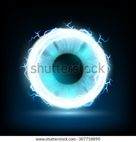 abstract image of a human eye
