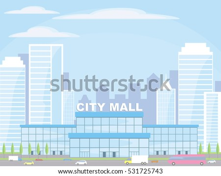 abstract image of a modern city