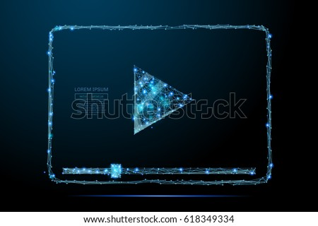 abstract image of a video codec