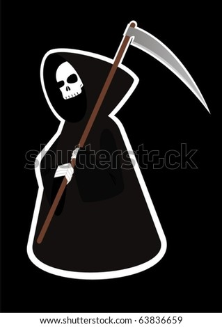 abstract image of death with a