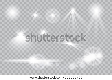 abstract image of lighting