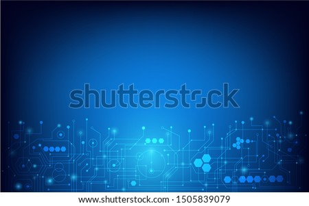 Abstract images of circuit board background