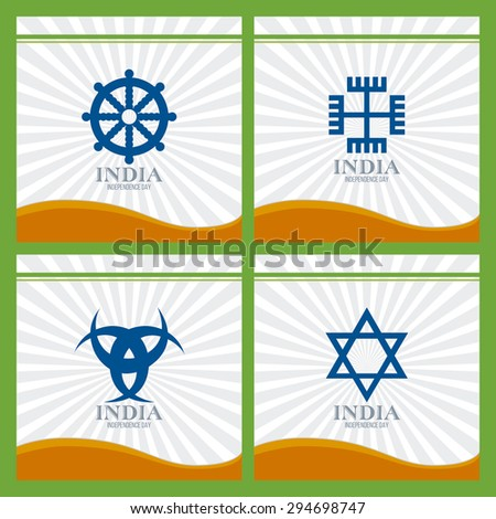 abstract india independence day