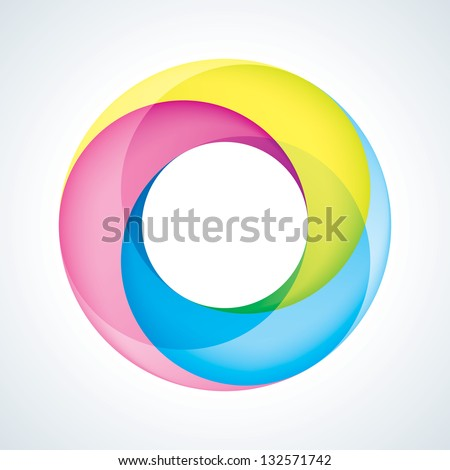 abstract infinite logo template