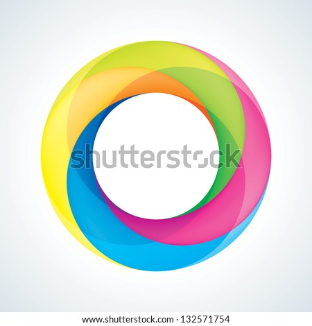 abstract infinite sign template