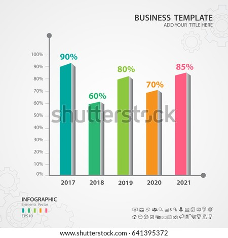 Abstract infographics number options template, Vector illustration, Rectangular rods 3d icon, presentation, diagram, advertisment, Process chart, business flyer, banner design, web design, timeline