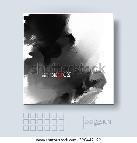 abstract inkblot background