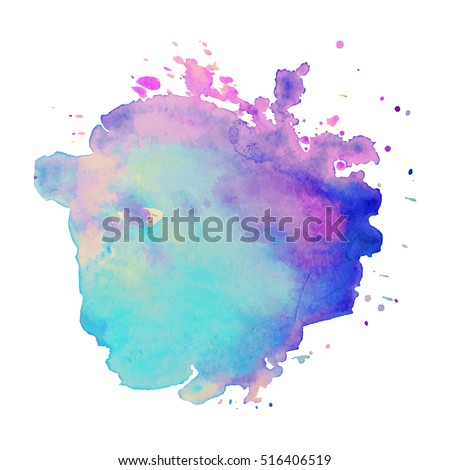 abstract isolated colorful