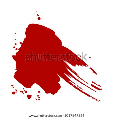 abstract isolated red vector