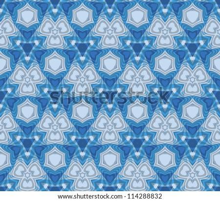 Abstract kaleidoscope background . Vector illustration .
