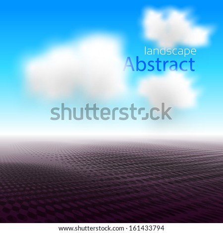 abstract landscape for your