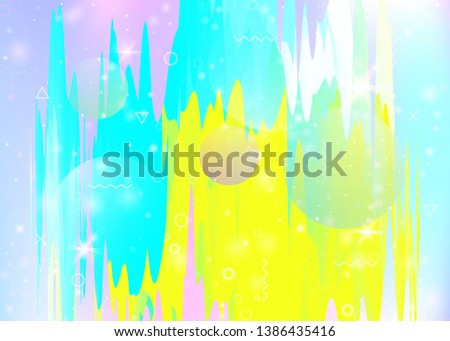 abstract landscape with