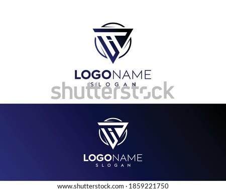 Abstract letter iT,uiT logo-IT Logo Design-IT letter logo design-IT letter icon and symbol ! Stockfoto ©