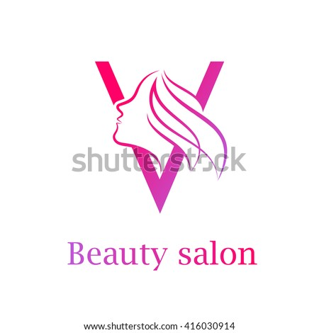 V line images for Abstract beauty salon
