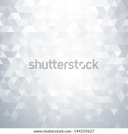 Abstract light background with triangle shapes