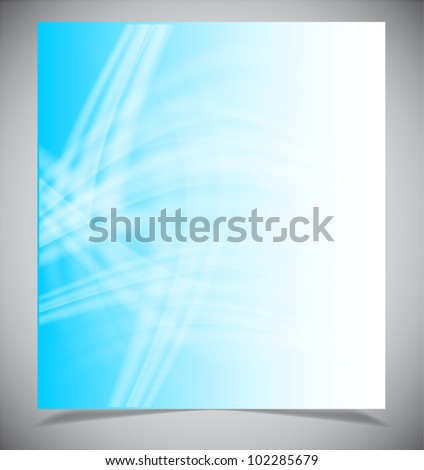 Abstract light blue background, Vector illustration eps10 - stock vector