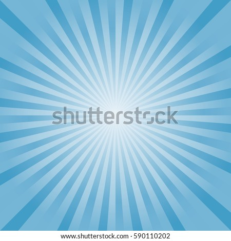 abstract light blue rays