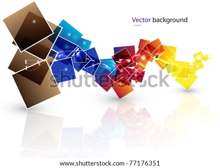 Abstract light color background. EPS Vector.