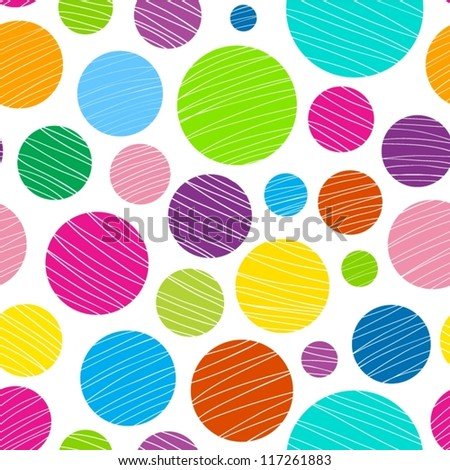 Abstract light colorful seamless pattern.